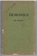 Demonics Association copy: Eric Ely Estorick