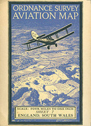 O.S. Ellis Martin Aviation greeting card