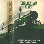 Retro G.W.R. Cheltenham Flyer greeting card
