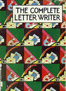 Deco Letter-Writer greeting card