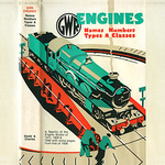 Retro G.W.R. Engines greeting card