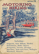 O.S. Johnston's Touring Map greeting card