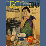 Retro Bread greeting card