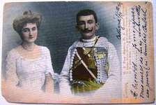 Mirko &  Natalija of Montenegro, 1903