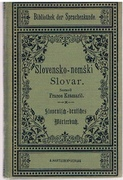 Slovensko-nemski Slovar. (Slovene into German Dictionary)