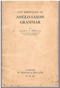 The Essentials of Anglo-Saxon Grammar.