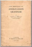 The Essentials of Anglo-Saxon Grammar.