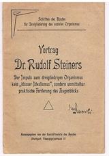 STEINER, Rudolf.