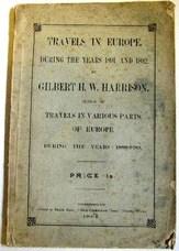 HARRISON, Gilbert H. W.