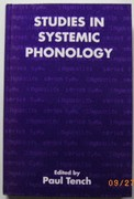 Studies in Systemic Phonology Open Linguistics.