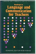 Readings in Language and Communication for Teachers Book II in the series: Language & Communication for Teachers
