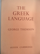 The Greek Language. Reprinted with corrections and additions.