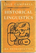 Historical Linguistics.  An Introduction