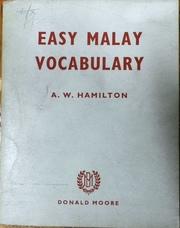 HAMILTON, A. W..
