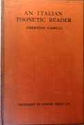 An Italian Phonetic Reader. The London Phonetic Readers. Edited by Daniel Jones.
