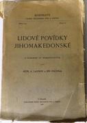 Lidove povidky jihomakedonske z rukopisu St. Verkovicovych.