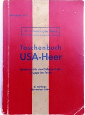 Taschenbuch USA-Heer  (German handbook to the United States military