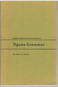 Nguna Grammar. Oceanic Linguistics.  Special Publication No. 5.