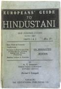 European's Guide to Hindustani. One Month's Course with Key.  Part I & II.  On Graduated System.