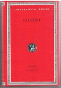Sallust. Loeb Classical Library No. 116.