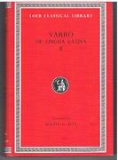 De Lingua Latina II. On the Latin Language. In Two Volumes. II. Books