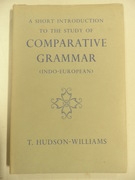 A Short Introduction to the Study of Comparative Grammar. (Indo-European).