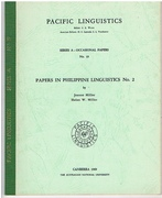 [Mamanwa] Papers in Philippine Linguistics No 2 Pacific Linguistics. Eds. S A Wurm et al.  Series A - No 19.