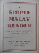 A Simple Malay Reader. with an English translation for home students.