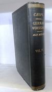 Chips from a German Workshop. Volume IV.  Essays chiefly on the Science of Language. with index to vols. III and IV.