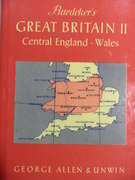 Baedeker's Great Britain II Central England, Wales
