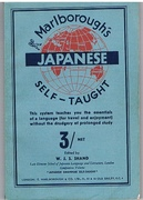 Marlborough's Japanese Self-Taught. Japanese Self-Taught (in Roman characters) by the Natural Method. With Phonetic Pronunciation. Thimm's System.