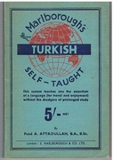 Turkish Self-Taught in Latin characters.   By the Natural Method with the