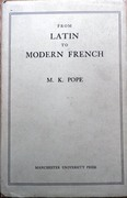 From Latin to Modern French with Especial Consideration of Anglo-Norman