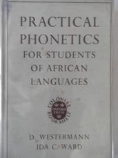 WESTERMANN, D., WARD, Ida C. (Daniel Jones)