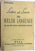 Listen and Learn the Welsh Language for use with special gramophone