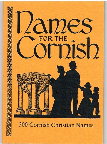 Lewington, Sue - Names for the Cornish Three Hundred Cornish First Names