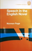 Speech in the English Novel English Language Series. 8.