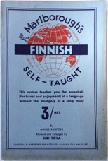 Finnish Self-taught by the Natural Method with Phonetic Pronunciation.