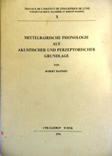 Mittelbairische Phonologie auf akustischer und perzeptorischer Grundlage