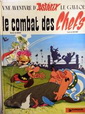 Le Combat des Chefs. Une Aventure d'Astérix le gaulois. [Asterix and the