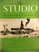 The Studio. The Leading Magazine of Contemporary Art. Vol 148 No 738 September 1954