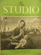 The Studio. The Leading Magazine of Contemporary Art. Vol 145 No 718 January 1953