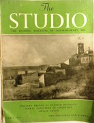 The Studio. The Leading Magazine of Contemporary Art. Vol 147 No 733 April 1954