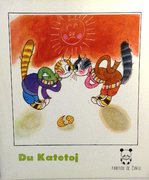 Du Katetoj Fabeloj de Cinio  [The Tale of Two Cats in Esperanto - from the  Chinese]