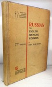 Russian for English Speaking Workers. First Year Course