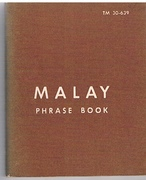 Malay Phrase Book TM 30-639