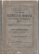 Sancti partris nostri Clementis Romani Epistolae binae de Virginitate,