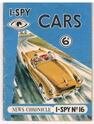 I-Spy Cars. 6d I-Spy No 16. I - Spy.