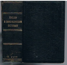 A New Pocket-Dictionary of the English and Dano-Norwegian  New