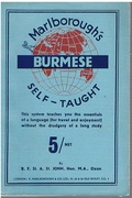 Burmese Self Taught in Burmese and Roman Characters. Thimm's System.